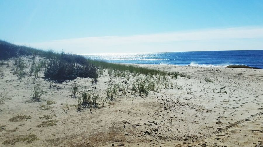 Nantucket Miacomet Beach Pristine Desolate Dunes Landscapes With WhiteWall