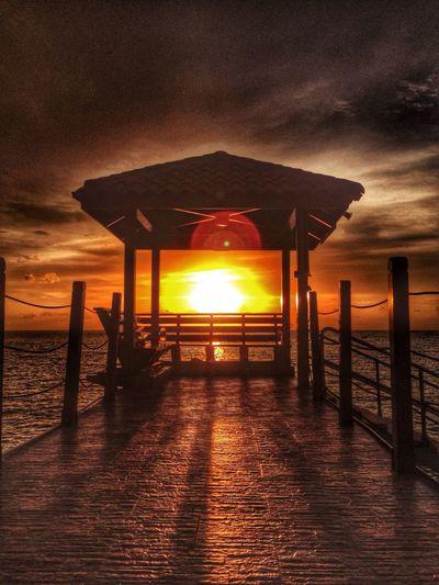 Sunset Sunset Camp Beach