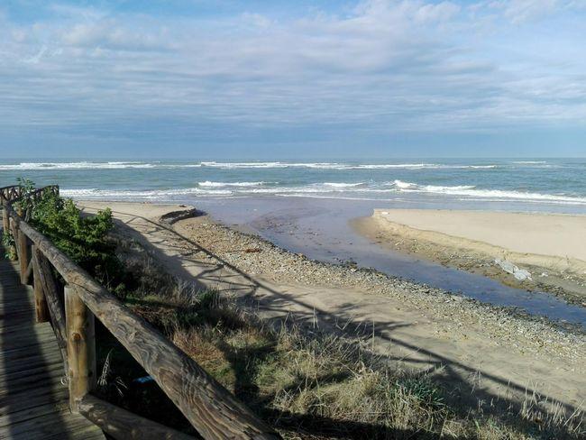 Horizon Over Water Beach Bajamar Mareasvivas Nature Enjoying The Sun