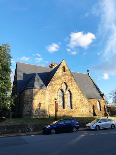 Church First Eyeem Photo Car Building Exterior Architecture Built Structure Transportation Day Land Vehicle