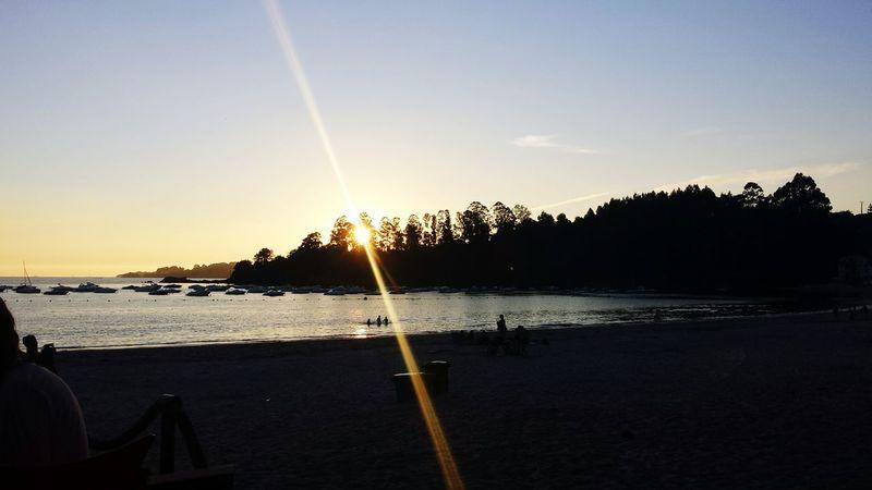 Sunset Sunset #sun #clouds #skylovers #sky #nature #beautifulinnature #naturalbeauty #photography #landscape Sunset_collection Sea Sky_collection Life Is A Beach