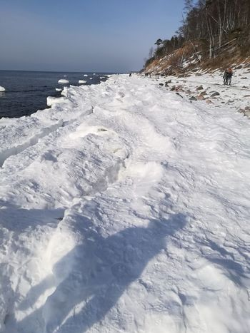Snow ❄ Snowing Ice Sea