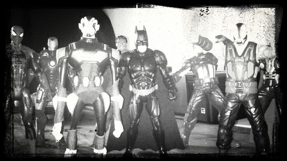 Superheroes Family