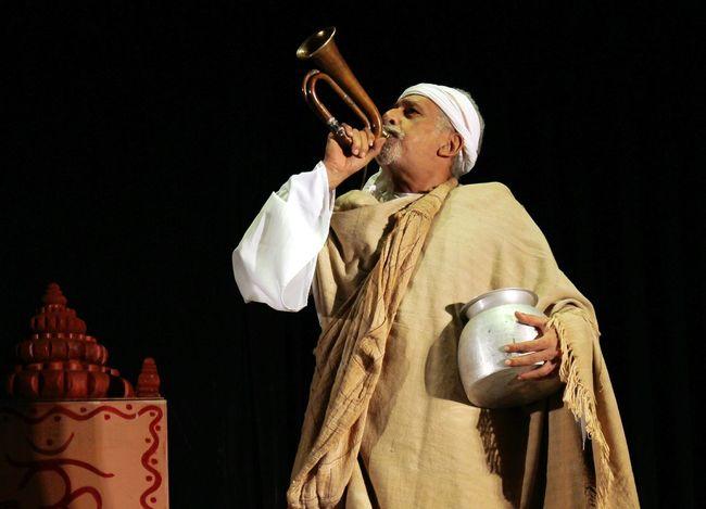 "Naseeruddin shah in the ""samadhi bhai ram singh"", a short play in Bhismostav"