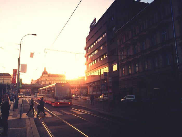 Sunset in Prague Prague EyeEm Best Shots IPhoneography Iphoneonly