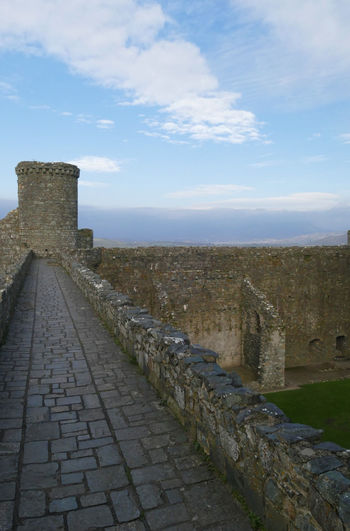 Architecture Battle Castle History Outdoors Protection Ramparts Sky Travel Destinations War