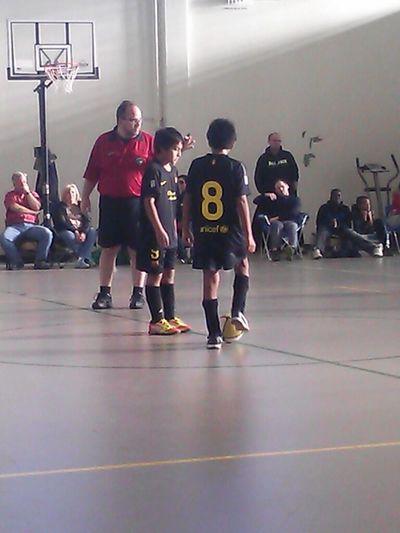 David And Ernesto At Kickoff