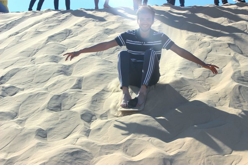 Capturing Freedom That's Me Sandboarding Sand Desert Life Sahara Sunny Happiness Relaxing