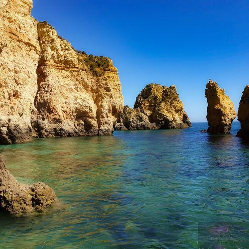 Water Sea Beach Blue Rock - Object Clear Sky Sky Landscape