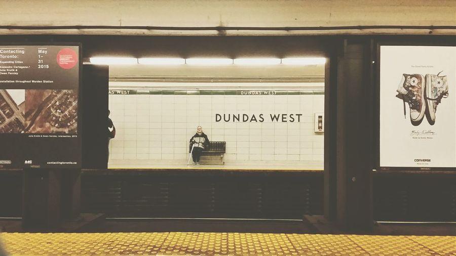 Subway Public Transportation Taking Photos Samsung Torontophotographer Eye4photography  Tdot  416 Bitch!