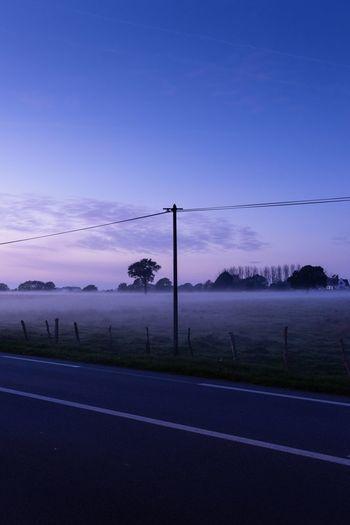 Dusk Road Sky
