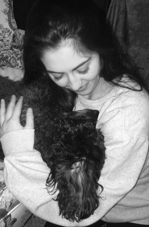 In My Arms Doggy Love I Love My Dog Pure Love A Girl And Her Dog Quiet Moments Love Lovephotography