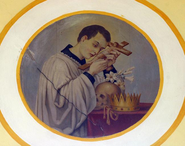 Saint Aloysius Aloysius Altar Christianity Church Croatia Faith Patron Pray Spirituality Statue Worship Art Belief Blessed  Fresco Holy Iconography Pilgrimage Religion Sacred Saint
