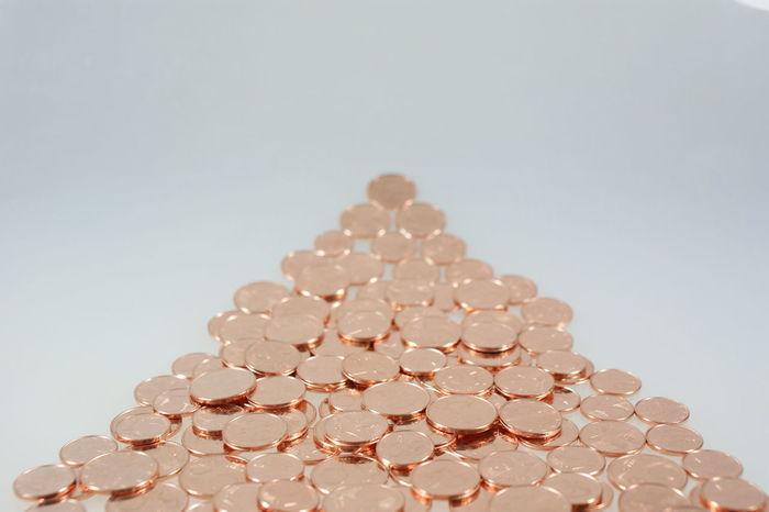 Bargeld Cash Cent Change Coins Copper  Erfolg Euro Finance Finanzen Geld Glänzend Kupfer Large Group Of Objects Money Münzen Shiny Success Wechselgeld