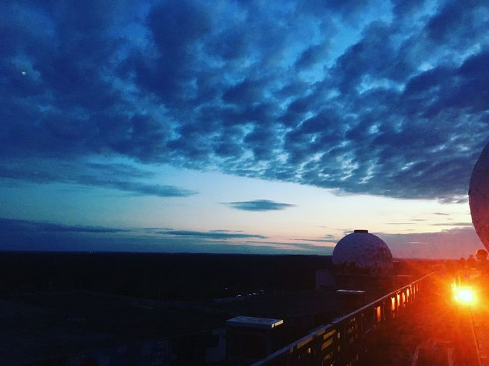Discover Berlin Architecture Nature Sky Sea Cloud - Sky Water Horizon Over Water Scenics Built Structure Sunset Outdoors Building Exterior Architecture Teufelsberg Teufelsberg Berlin Sky Over Berlin.