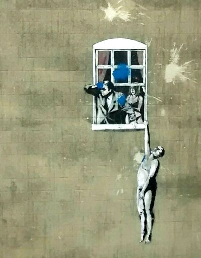 Bristol ArtWork Banksy Gelosia Draw
