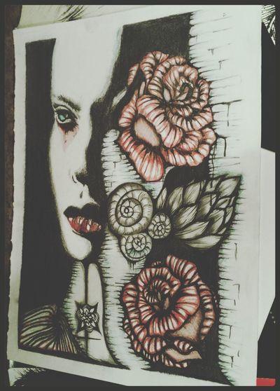 My old work. Enjoy. Hello World Today's Hot Look MistAke_Arts Art