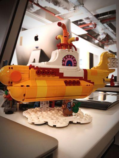 Yellow Submarine LEGO