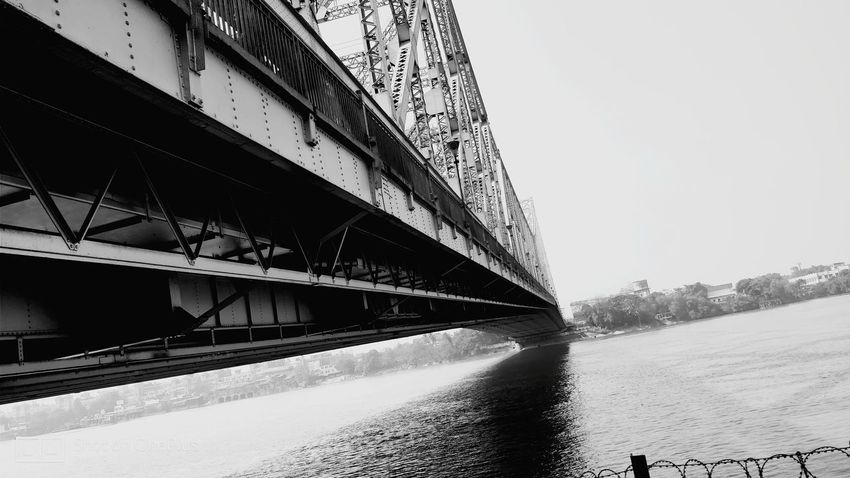HowrahBridge Cantilever Bridge Heritage Site Indian Heritage Architecture Built Structure Bridge - Man Made Structure No People Day Outdoors Clear Sky First Eyeem Photo EyeEmNewHere