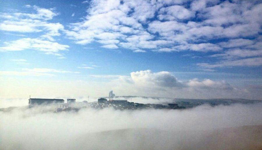 Turkey Ankara Ankara Incek Sky Clouds Mist Misty Day Misty Morning