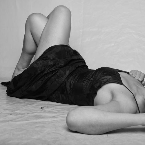Black & White Adults Only One Woman Only Fashion Glamour Headless Lying Down Black Color Beauty Lying On Back Only Women Beautiful People Relaxation Adult One Person Beautiful Woman One Young Woman Only Young Adult EyeEmNewHere