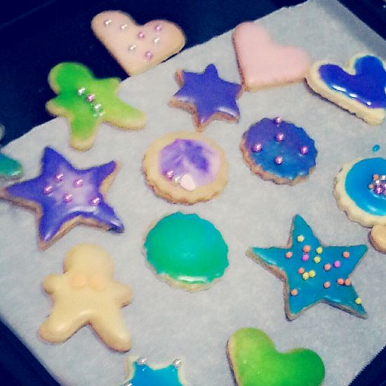 chaos cookie。。、 Chaos Beautiful Chaos Cookies Icing Cookies