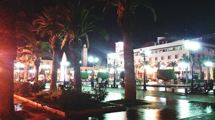 Oujda City, Morocco الحمد_لله سبحانك ربي Night Lights Night Photography City Lights Oujda By Night