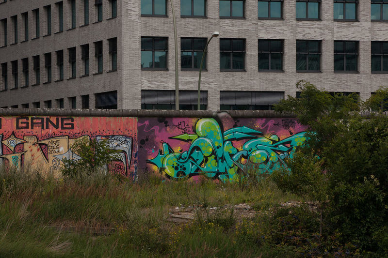 Berlin Wall Memorial Architecture Art And Craft Berlinwall Today Building Exterior Built Structure City Creativity Discover Berlin Graffiti Historical Multi Colored Spree River Street Art