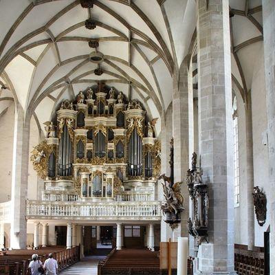 Orgel im Merseburgerdom Merseburg Kirche kunst