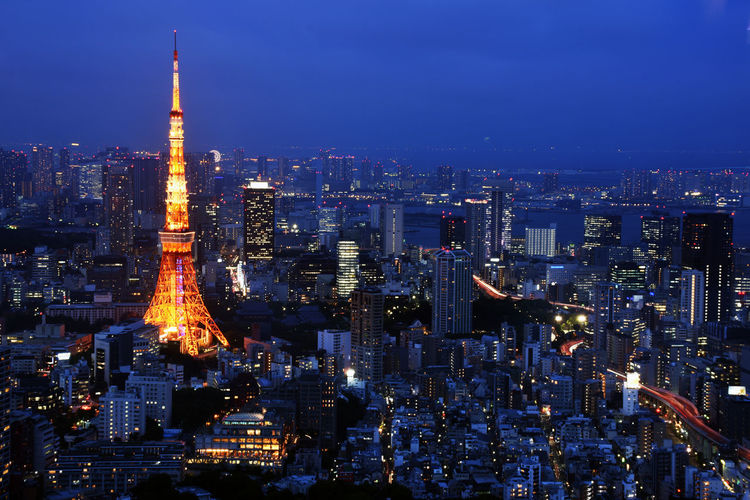 Tokyo Tower Night Tokyo Tower Tokyo,Japan Architecture Building Building Exterior Built Structure City Cityscape Crowd Crowded Financial District  Illuminated Landscape Modern Night Night View Office Building Exterior Outdoors Sky Skyscraper Spire  Tall - High Tower Travel Travel Destinations