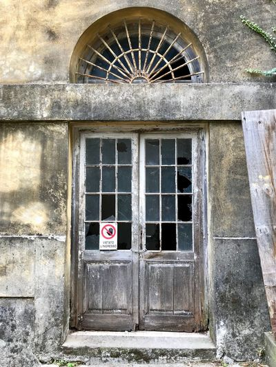 Architecture Built Structure Building Exterior Window Building Day No People Old Outdoors Closed Wall - Building Feature Entrance Door Abandoned House Wall