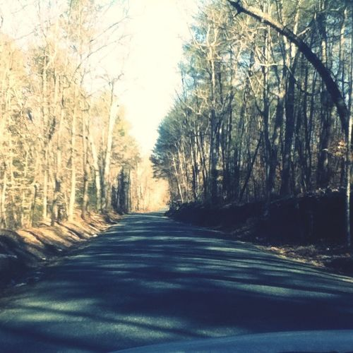 Gonna take a back road, gonna take the long way home⛺