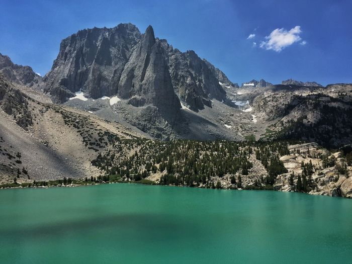 """""""Big Pine Lake 2"""" deserves a better name but is nonetheless spectacular. Iphoneonly IPhoneography IPhone Landscape Mobile Photography Photo365 Mobilephotography Project 365 Eastern Sierra Alpine Landscape_Collection Landscapes Project365 Landscape_photography Project366 Outdoors"""