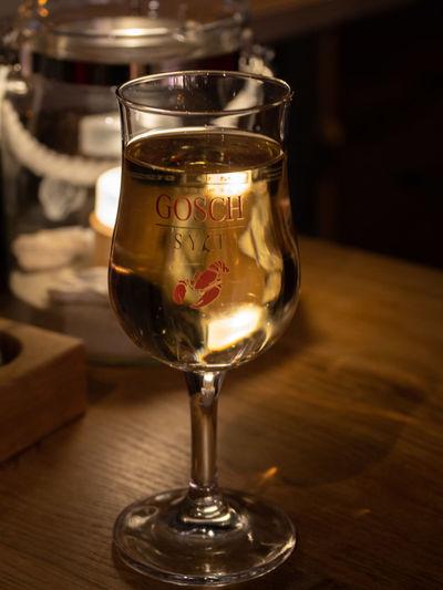 Weißwein bei