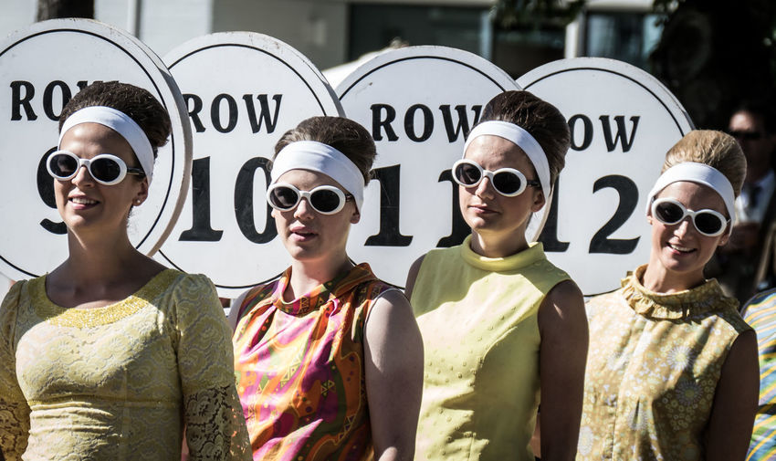 A grand day out - Goodwood Revival 2016 Cars Classic Car Racing Retro Communication Day Eyeglasses  Grid Girl No People Outdoors Racing Car Sunglasses Text Vintage