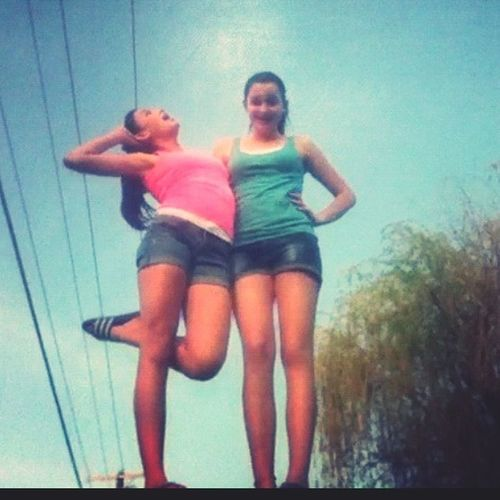 Tbt, this summer with my Emily grizzly