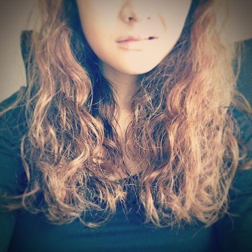 My Naturally Curly Hair . Good Morning .