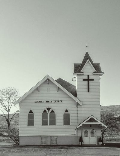 Charming Country Road Architecture Conservative Values Rural Scene Countryside County Fair Country Whitman County, WA Steeple Pew Pediment Church Place Of Worship Public Gathering Christianity Place Of Worship Old-fashioned Triangle Shape Sky Architecture Building Exterior Built Structure Neo-classical Historic Building Façade Monochrome Place Of Interest Cathedral Historic EyeEmNewHere