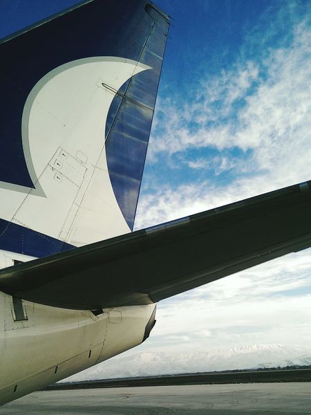 Anadolujet Aircraft Sky Sky_collection Clouds Travel Onboard