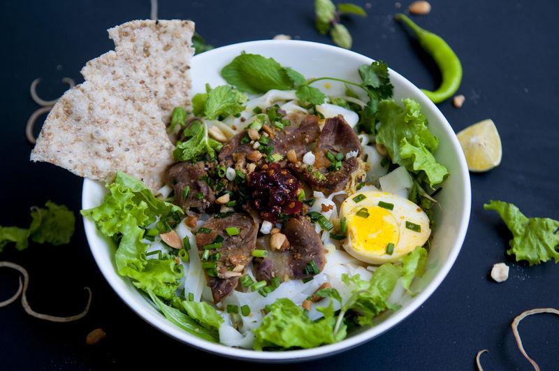 Vietnamese noodle - my quang, vietnamese traditional cuisine