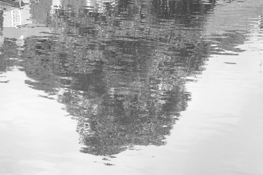 Knaresborough Reflection Black And White No People Outdoors No Edit/no Filter Allmyphotography