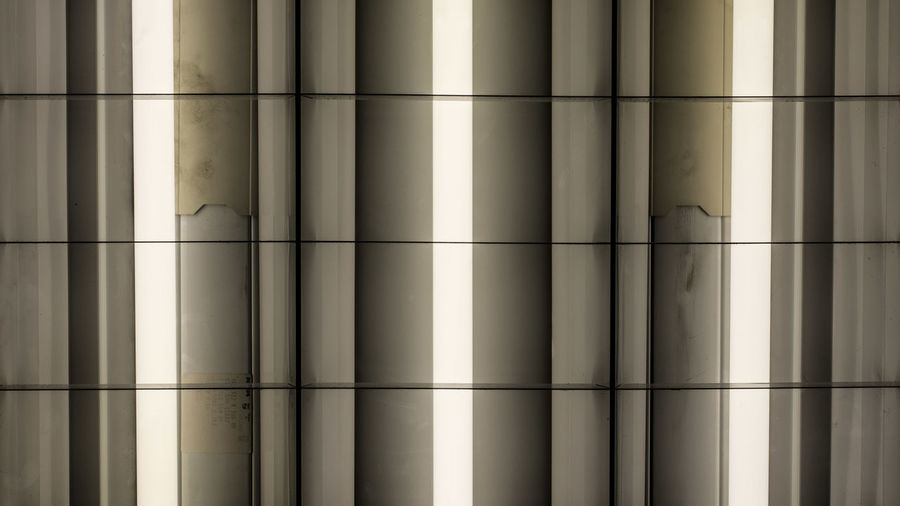 Marcweberde Full Frame Pattern No People Backgrounds Indoors  Built Structure Sunlight Window Close-up Day Architecture Wall - Building Feature Shadow Architectural Column Metal Glass - Material Building Side By Side Repetition Capture Tomorrow
