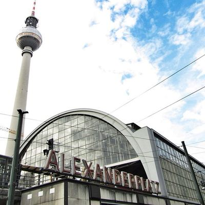 The Fernsehturm TV tower at Berlin's Alexanderplatz dominates the city's skyline. Ig Igers Architecture IGDaily Abstract Instagramers Berlin Architectureporn Urban Igscout Fernsehturm Instadaily Building Instatalent Germany Instagain Tower Igaddict Buildings Ignation Pattern Archidaily ArchiTexture Archilovers Lookingup Instapic All_shots Insta_germany Instamood Instaphoto