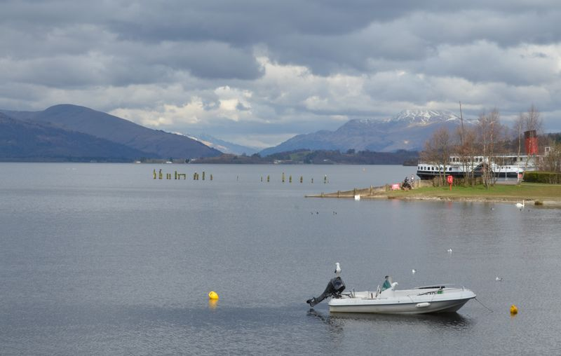 Ben Lomond In Scotland Daylight Photography Loch Lomond Maid Of The Loch No People Scenic Lookout Scenic View Scotland Water
