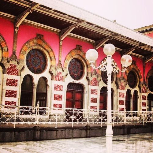 Check This Out Hanging Out Hello World Relaxing Taking Photos Enjoying Life Portaseportoes Doors Building Exterior Facades History Architecture Istanbul Train Station Turkey Türkiye Turquia