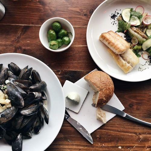 Mussels Seafoods Danish Cuisine