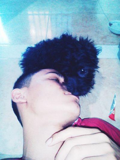 I Love My Dog Frishka Kiss :)