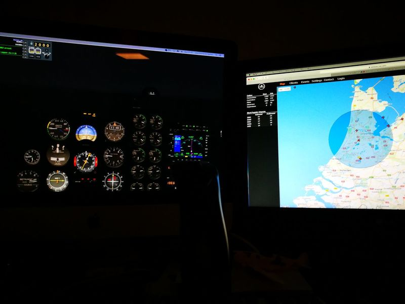 X-plane No People Flight Simulator Netherlands Computers Technology