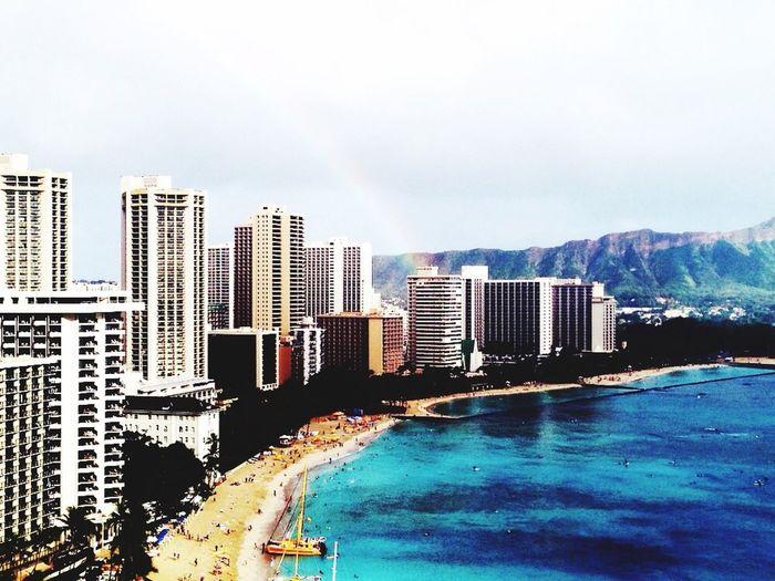 rainbow Hawaii Sheratonwaikiki First Eyeem Photo