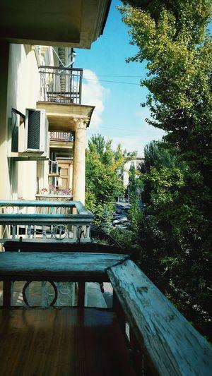 центр балкон